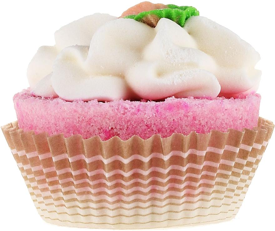 Bomba de baño efervescente en forma de cupcake, con aroma a sándalo - Bosphaera