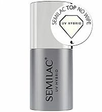 Perfumería y cosmética Top coat gel híbrido, sin capa pegajosa - Semilac UV Hybrid No Wipe