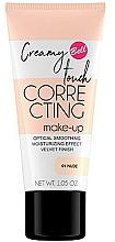 Perfumería y cosmética Base de maquillaje correctora hidratante - Bell Creamy Touch Correcting Foundation
