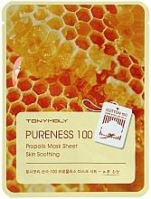Perfumería y cosmética Mascarilla facial con propóleo - Tony Moly Pureness 100 Propolis Mask Sheet
