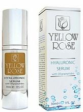 Perfumería y cosmética Sérum facial hialurónico antiarrugas con oligopéptidos - Yellow Rose Hyaluronic Serum With Oligopeptides