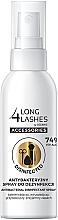 Perfumería y cosmética Spray antibacteriano para brochas y pinceles de maquillaje - Long4Lashes Antibacterial Disinfected Accessories Spray 74% Alcohol