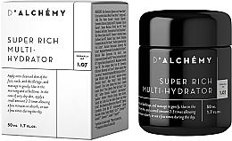 Perfumería y cosmética Crema para rostro, cuello y escote natural súper enriquecida con extracto de algas - D'Alchemy Super Rich Multi-Hydrator