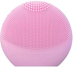 Perfumería y cosmética Cepillo de limpieza facial inteligente de silicona 2 en 1, rosa - Foreo Luna Fofo Smart Facial Cleansing Brush Pearl Pink