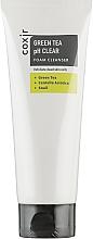 Perfumería y cosmética Espuma de limpieza facial con té verde, centella asiática y baba de caracol - Coxir Green Tea pH Clear Foam Cleanser