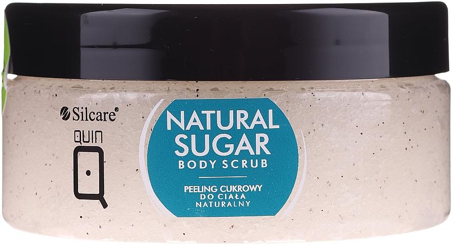Exfoliante corporal natural a base de azúcar con aceite de argán - Silcare Quin Natural Sugar Body Scrub