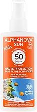 Perfumería y cosmética Spray protector solar 100% mineral & natural - Alphanova Sun Kids SPF 50+