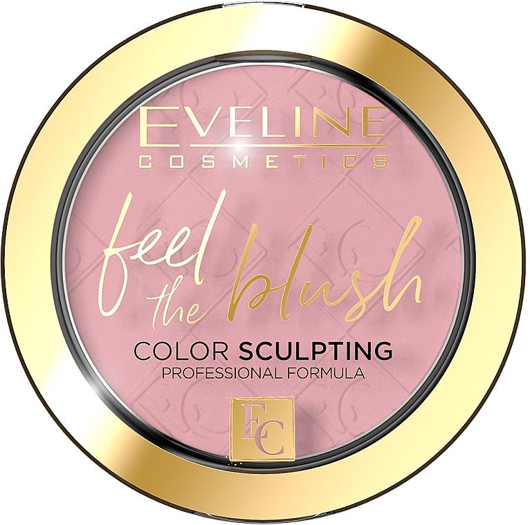 Colorete facial en polvo compacto - Eveline Cosmetics Feel The Blush
