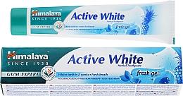 Perfumería y cosmética Pasta dental blanqueadora a base de hierbas blancas activas con papaína - Himalaya Herbals Active White Fresh Gel