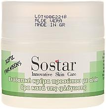 Perfumería y cosmética Crema facial con aloe vera - Sostar Moisturizing Face Cream With Aloe Vera