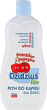 Perfumería y cosmética Espuma de baño con extractos de tomate y pimiento - Dzidzius Fito