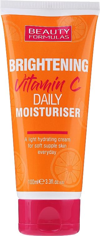 Crema de día hidratante iluminadora con vitamina C - Beauty Formulas Brightening Vitamin C Daily Moisturiser Cream