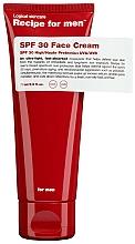 Perfumería y cosmética Crema facial hidratante con extractos de canela y jengibre, SPF 30 - Recipe For Men Facial Moisturizer SPF 30