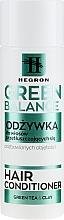 Perfumería y cosmética Acondicionador con té verde, arcilla verde, manteca de karité y D-pantenol - Hegron Green Balance Hair Conditioner