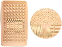 Perfumería y cosmética Kit de limpieza para brochas de maquillaje - Nanshy Makeup Brush Cleaning Pad & Palette