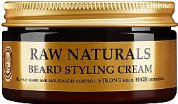 Perfumería y cosmética Crema para barba y bigote con karité, extracto de lúpulo y cactus - Recipe For Men RAW Naturals Beard Styling Cream