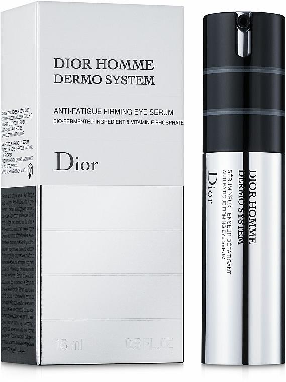 Sérum para contorno de ojos con vitamina E y extracto de avena - Dior Homme Dermo System Eye Serum 15ml — imagen N1