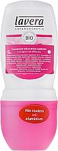 Perfumería y cosmética Desodorante antitranspirante roll-on con rosa orgánica - Lavera 24h Deo Roll-On