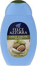 Perfumería y cosmética Gel de ducha con manteca de karité - Paglieri Felce Azzurra Benessere Shower Gel