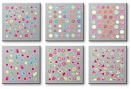 Perfumería y cosmética Stickers para uñas - Top Choice Neon