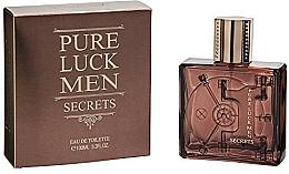 Perfumería y cosmética Linn Young Pure Luck Men Secrets - Eau de toilette