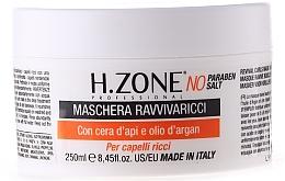 Perfumería y cosmética Mascarilla para cabello rizado con aceite de argán - H.Zone Revival Curls Mask