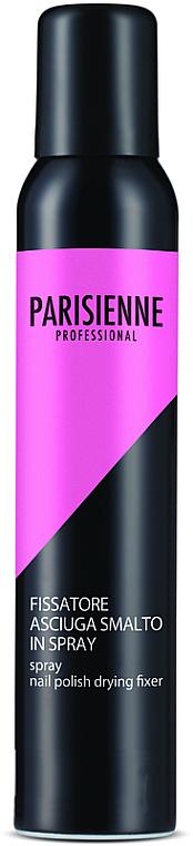 Spray para fijación y secado de uñas - Parisienne Spray Nail Polish Drying Fixer