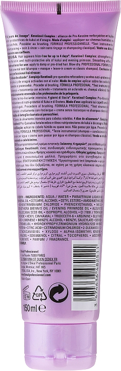 Crema capilar alisante con aceite de onagra - L'Oreal Professionnel Liss Unlimited Smoothing Cream — imagen N2