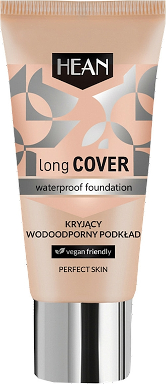 Base de maquillaje resistente al agua - Hean Long Cover Waterproof Foundation