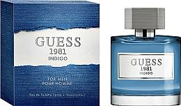 Perfumería y cosmética Guess 1981 Indigo For Men - Eau de toilette