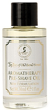 Perfumería y cosmética Aceite pre-afeitado aromático suavizante - Taylor of Old Bond Street Aromatherapy Pre-Shave Oil