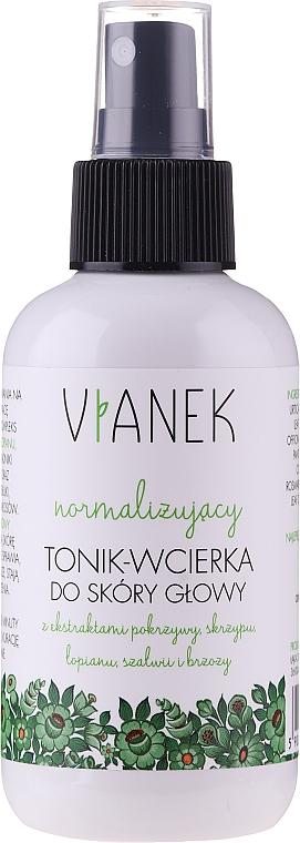 Tónico equilibrante para cuero cabelludo con extracto de ortiga - Vianek Normalizing Hair Tonic