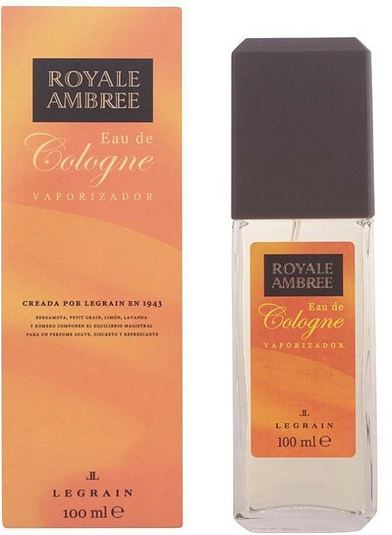 Legrain Royale Ambree - Agua de colonia con vaporizador