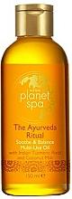 Perfumería y cosmética Aceite calmante musltiusos (cuerpo, cabello y baño) con leche de coco - Avon Planet Spa The Ayurveda Ritual Soothe & Balance Multi-use Oil