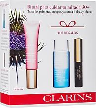 Perfumería y cosmética Set (crema contorno de ojos/15ml+ desmaquillante/30ml+ máscara/3.5ml) - Clarins Multi Active Yeux Set