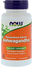 Perfumería y cosmética Complemento alimenticio en cápsilas ginseng indio, 450 mg - Now Foods Ashwagandha