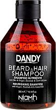 Perfumería y cosmética Champú para cabello y barba con aceite de argán - Niamh Hairconcept Dandy Beard & Hair Shampoo