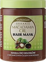 Perfumería y cosmética Mascarilla capilar con aceite de macadamia orgánico - GlySkinCare Macadamia Oil Hair Mask