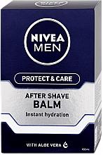 Perfumería y cosmética Bálsamo aftershave con jugo de aloe vera - Nivea Men Prtotect & Care Moisturizing After Shave Balm