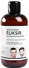 Perfumería y cosmética Champú elixir con queratina, extracto de papaya y mango - WS Academy Patchouli Elixir Wash