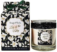 Perfumería y cosmética Vela aromática, lirio de los valles - Song of India Lily of the Valley Candle