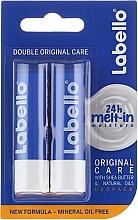 Perfumería y cosmética Set labial - Labello Classic Care Balm Set (bálsamo labial/2x4.8g)
