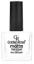 Perfumería y cosmética Top coat, mate - Golden Rose Matte Top Coat
