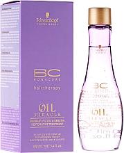 Perfumería y cosmética Aceite capilar reparador con higo y queratina - Schwarzkopf Professional Bonacure Oil & Micro Keratin