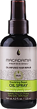 Perfumería y cosmética Spray reparador de cabello con aceites de macadamia y de argán - Macadamia Professional Nourishing Repair Oil Spray