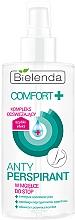 Perfumería y cosmética Spray antitranspirante con pantenol para la sudoración de pies - Bielenda Comfort Foot Antiperspirant Spray Mist