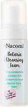 Perfumería y cosmética Espuma facial limpiadora con extractos de nuez shikakai, dátil del desierto - Nacomi Botanic Cleansing Foam