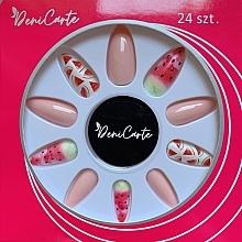 Perfumería y cosmética Sandía tips de uñas, 24 uds. - Deni Carte