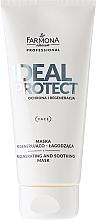 Perfumería y cosmética Mascarilla facial regeneradora con aceite de almendras dulces - Farmona Professional Ideal Protect Regenerating And Soothing Mask