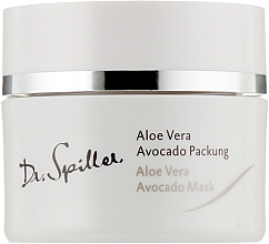 Perfumería y cosmética Mascarilla crema facial con aloe vera y aceite de aguacate - Dr. Spiller Biomimetic Skin Care Aloe Vera Avocado Mask